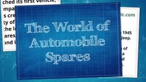 The World of Automobile Spares