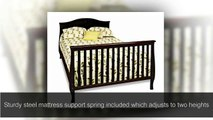 Best Cribs & Baby Crib Reviews - Child Craft Camden 4 in 1 Convertible Crib, Jamocha