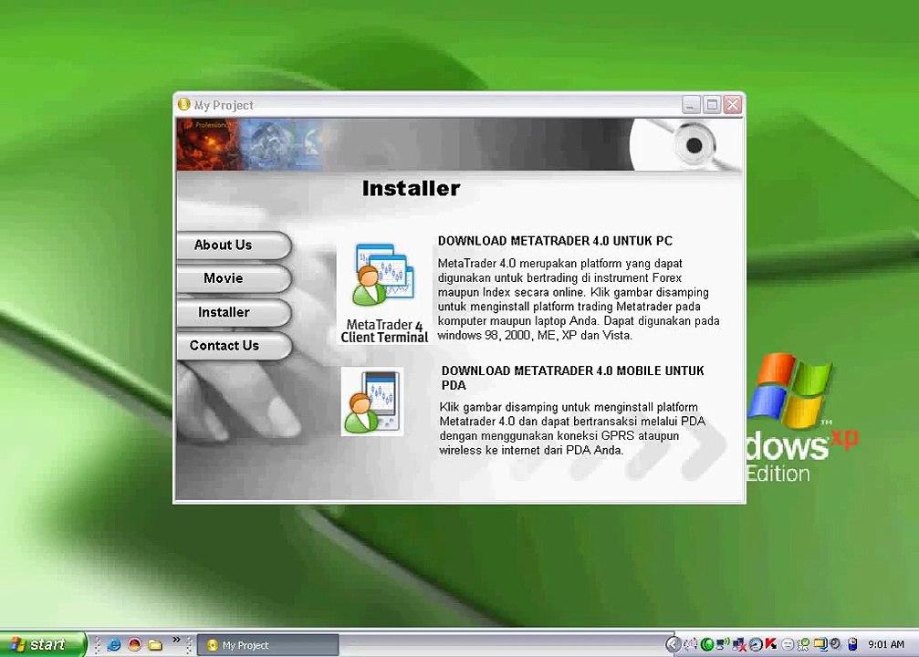 forex instal di komputer anda