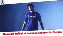 Nouveau Maillot et nouveau sponsor pour Chelsea 2015-2016