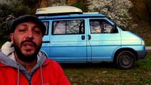 """Living in a Van: our VW Westfalia T4 """"Mork"""". An introduction."""