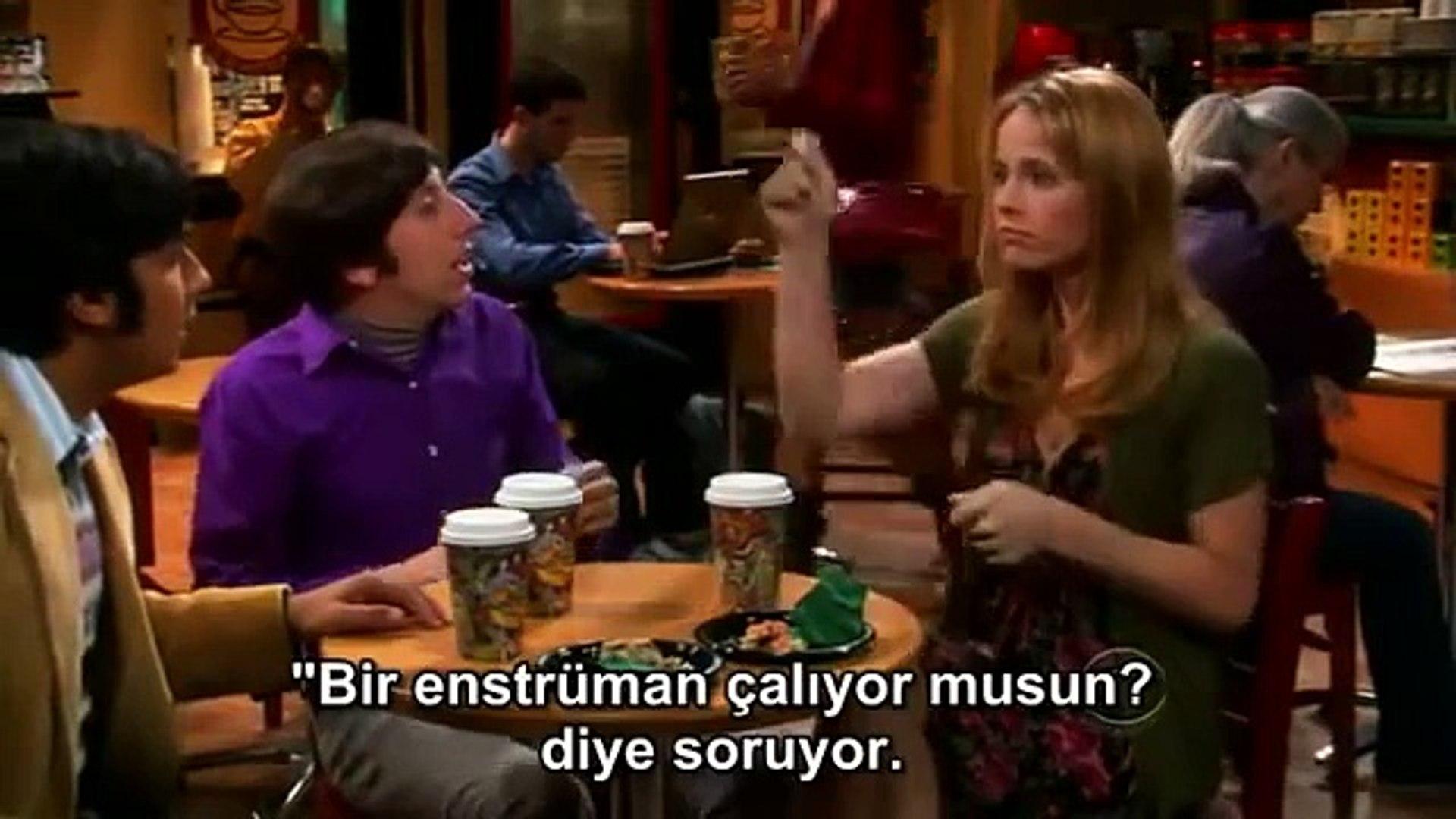 The Big Bang Theory - Raj and Emily. Howard's Body Language (Türkçe Altyazı - Turkish Subtitle)