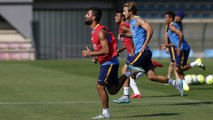 FC Barcelona training session: Preseason continues with same group of 23