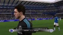 Fifa 14 / Everton F.C vs Chelsea F.C / Sezonun ilk maçı / [HD]