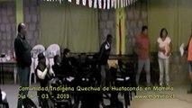 Entrevista a Comunidad Indígena Quechua de Huatacondo en Mamiña - Chile 2013