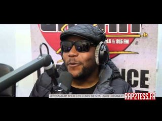 Lino en mode chroniqueur du rap français sur urban hit!