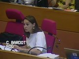 Intervention de Caroline Bardot sur les rapports formation professionnelle et apprentissage
