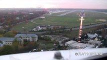 Landing and taxi to gate on RWY 26R in Berlin Tegel (TXL EDDT), HD, Cockpit view