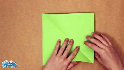 Einfache Origami-Drachen