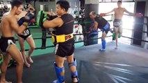 Muay Thai : 30 coups de pieds en 17 secondes
