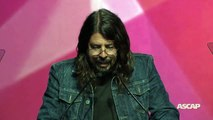 Dave Grohl Presents KISS with ASCAP Founders Award - 2015 ASCAP Pop Awards
