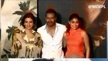 Ajay Devgn ,Tabu,shriya Saran & gulzaar Saab &Vishal Bhardwaj Promotion Of Movie Drishyam