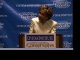 Elizabeth Dole touts spending restraint in Civitas speech