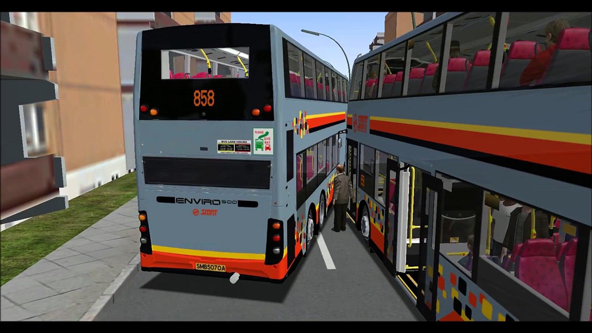 █▓▒░ [OMSI 2] [SMRT] Real AI Bus Breakdown Simulation