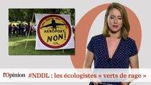 """#tweetclash : #NDDL: les écologistes """"verts de rage"""""""