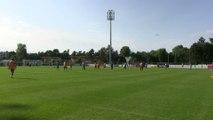 Foot - L1 - Troyes : Séance d'entraînement de L'ESTAC au Touquet