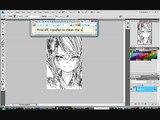 Editing Manga Scan 1: Cleaning manga Scan