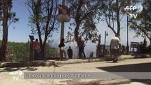 Grèce: incendie de forêt près d'Athènes