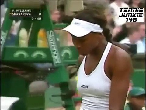 Venus Williams vs Maria Sharapova - Wimbledon 2005 Highlights
