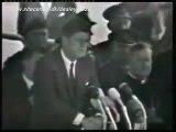 President John F Kennedy leaving Ireland and arriving in London, June 29th 1963