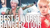 Best & Worst Miley Cyrus Bangerz Tour Costumes (Throwback)