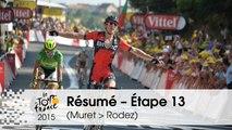 Résumé - Étape 13 (Muret > Rodez) - Tour de France 2015