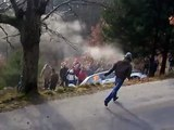 jerome aymard crash - wrc rallye monte-carlo 2008