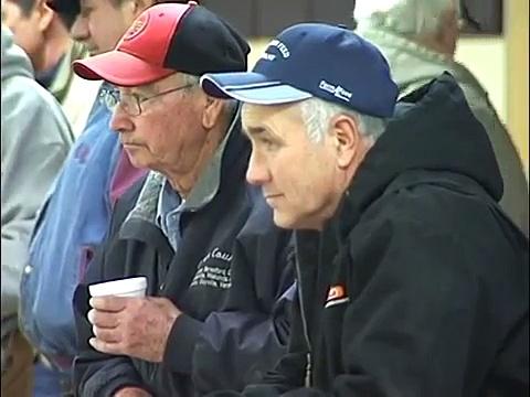 Auctioneer Jason Spykerboer, Sioux Falls Regional Livestock