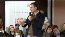 Pedro Sánchez: Hasta que no haya recuperación social, no habrá recuperación económica