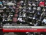 ¿Qué pasó con el voto de Lilita Carrió en el final del debate por el memorándum? #27F