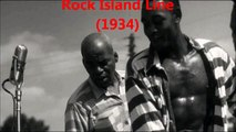 Original 1934 John Lomax recording of 'Rock Island Line' by Kelly Pace and Prisoners