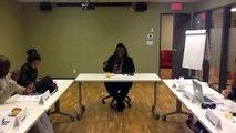 Séance de coaching spécialisé pour les entrepreneurs de Classe Affaires par Mme Léonie Tchatat