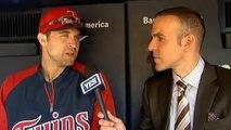Minnesota Twins Brian Dozier talks about idolizing Derek Jeter growing up