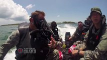 National Guard Special Forces Combat Divers Train at Underwater Operations School