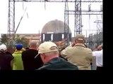 2004 Maine Yankee Nuclear Power Plant Reactor Demolition