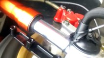 PGO TIGRA 150 ABS彪虎DRIVEN F1倒叉前避震器測試 PGO TIGRA 150 ABS DRIVEN F1 lnverted front shock absorber test