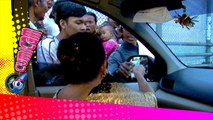 Mpok Atik Bagi-bagi Duit di Jalanan - Cumicam 18 Juli 2015