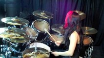 "Lux Drummerette - Judas Priest ""Painkiller"" - Drum Cover"