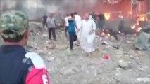 قتلى وجرحى بانفجار سيارة مفخخة بسوق في ديالى