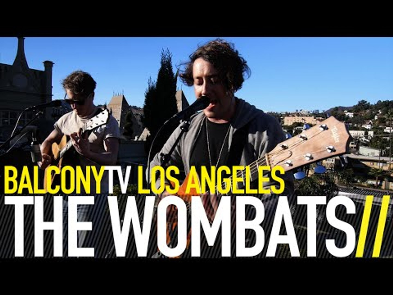 THE WOMBATS - GREEK TRAGEDY (BalconyTV)
