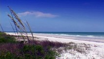 FORT MYERS BEACH Florida Gulf Coast #29 Beaches Ocean Waves Relaxing Nature Sounds Wave Video