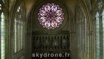 cathedrale d'amiens prise de vues drone