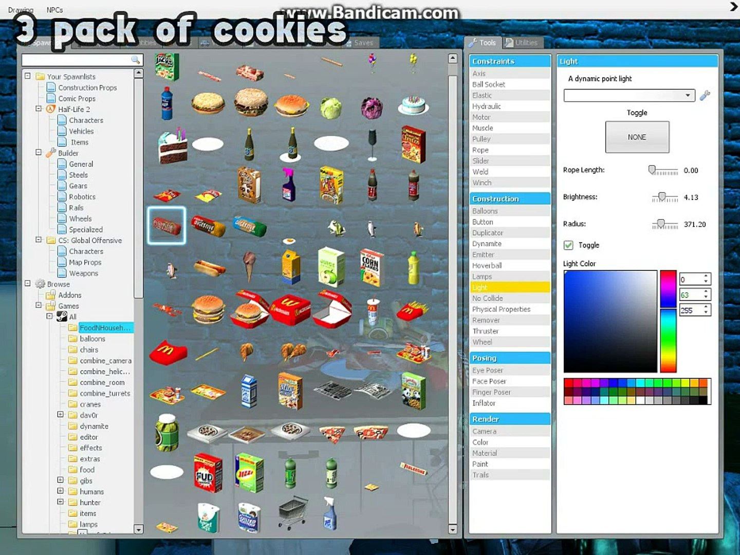 Garry's Mod - How to Cook! (How to cook Pizza, How to cook Cake, How to  make Explosive Device)