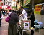 Hong Kong Activities: Petition Signing for the Early Release of Liu Xiaobo