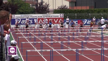 Finale 100 m haies Juniors