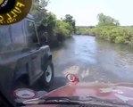 4x4 Yala water crossing hilux
