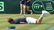 VIDEO - Coupe Davis : Andy Murray se blesse