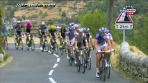 François Hollande fait son François Mitterrand sur les routes du Tour de France entre Rodez et Mende