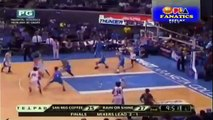 Fancy Pass by Marqus Blakely on Ian Sangalang Game 4 Finals