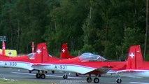 Swiss Pilatus PC-7 demo team Kleine Brogel 2013